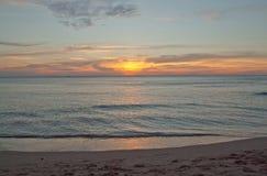 Sunlight on the beach Stock Photos