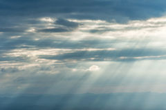 Sunlight beam Royalty Free Stock Image