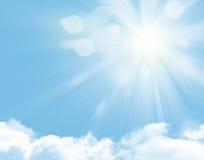 Sunlight and blue sky Stock Photo