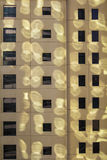Sunlight on a building wall texture Royalty Free Stock Image