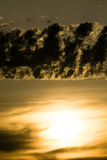 Sunlight through clouds Royalty Free Stock Images