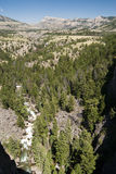 Sunlight Creek Gorge. Along the Chief Joseph Scenic Byway in Wyoming Stock Photo