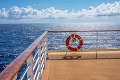 Sunlight On Deck Royalty Free Stock Images