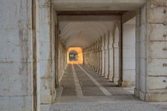 Sunlight at the end of the tunnel Stock Images