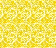 Sunlight flare concept summer seamless pattern. Stock Image