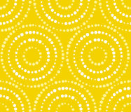 Sunlight flare concept summer seamless pattern. Stock Images