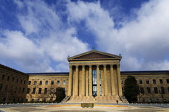 A sunlight hit Philadelphia Museum of Art Royalty Free Stock Images