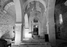 Sunlight inside church Stock Images