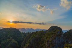 Sunlight landscape tropical Stock Photos