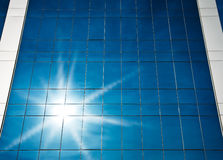 Sunlight on office building Royalty Free Stock Photography