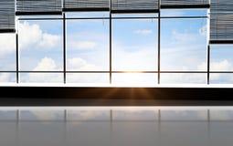 Sunlight office Royalty Free Stock Photos