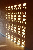 Sunlight projection on wall Stock Photo