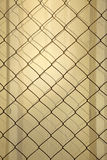 Metal Wall & Wire Mesh Stock Photography
