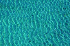 Sunlight Reflection in Blue Water Royalty Free Stock Photo