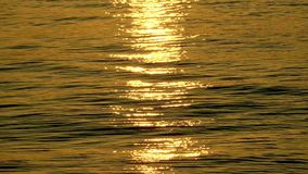 Sunlight Reflection on Sea Water stock video