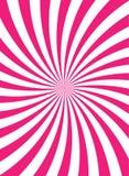 Sunlight retro faded background. pink color burst background. Vector vertical illustration stock illustration