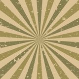 Sunlight retro faded grunge background. brown and beige color burst background. Vector illustration. Sun beam ray background. Old speckled paper with particles vector illustration