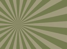 Sunlight retro faded grunge background. dirty green and beige color burst background. vector illustration