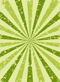 Sunlight retro faded grunge background. green and beige color burst background. Vector illustration. Sun Royalty Free Stock Photo
