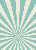Sunlight retro narrow vertical background. Pale blue and beige color burst background. vector illustration