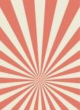 Sunlight retro narrow vertical background. Pale red and beige color burst background. Fantasy Vector illustration. royalty free illustration