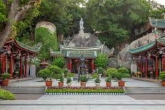"Sunlight Rock Temple, originally named Lotus Nunnery, at gulangyu, xiamen. Sunlight Rock Temple, originally named ""Lotus Nunnery"", was rebuilt in the 14th Stock Images"