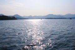 Sunlight on the sea Stock Image
