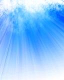 Sunlight shining through cloud Stock Image