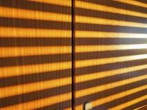 Sunlight through shutter Stock Photos