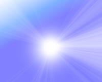 Sunlight in the sky Stock Photo