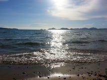 Sunlight. Sun light sea Stock Photo