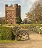 Sunlight on Tattershall Castle Royalty Free Stock Photos