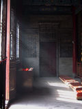 Sunlight in the Temple of the Eight Immortals Xian Stock Photography