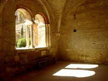 Sunlight Through The Archs Stock Image