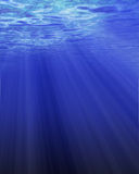Sunlight through water Royalty Free Stock Images