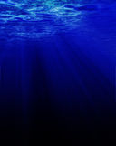 Sunlight through water Stock Photos