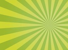 Sunlight wide abstract background. Green color burst background. Vector illustration. Sun beam ray sunburst pattern background. royalty free illustration