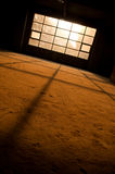 Sunlight Through a Window Royalty Free Stock Photography