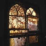Sunlight through windows Stock Image