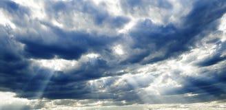 Nuvole di tempesta Immagini Stock Libere da Diritti