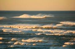 sunlit волны Стоковое Изображение RF
