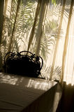 Sunlit тень комнаты Стоковые Фотографии RF