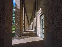Sunlit Arches of Carnegie Mellon University