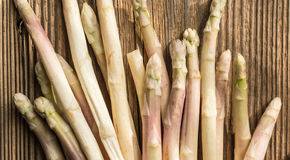 Sunlit Asparagus Royalty Free Stock Images