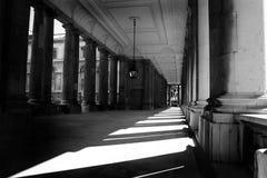 Sunlit corridor Royalty Free Stock Photos