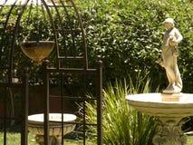Sunlit Garden Stock Photography