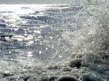 Sunlit Icy Shore 11 Royalty Free Stock Photography