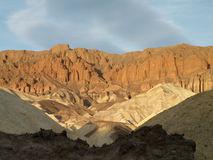 Sunlit landscape royalty free stock photo