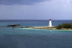 Sunlit Lighthouse Royalty Free Stock Photo