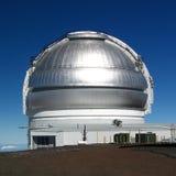 sunlit observatorium Royaltyfria Bilder